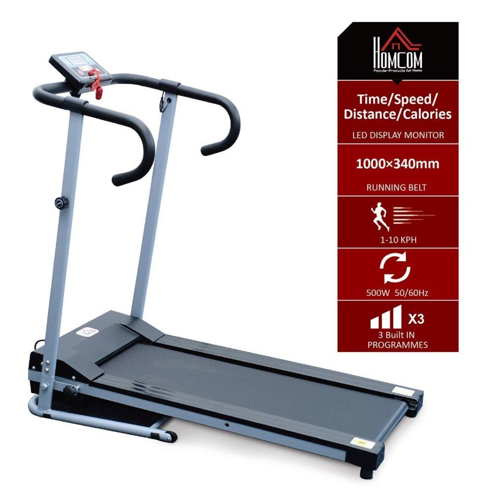 Life Fitness Treadmill Philippines: Homcom Motorised Electric Treadmill Running Machine