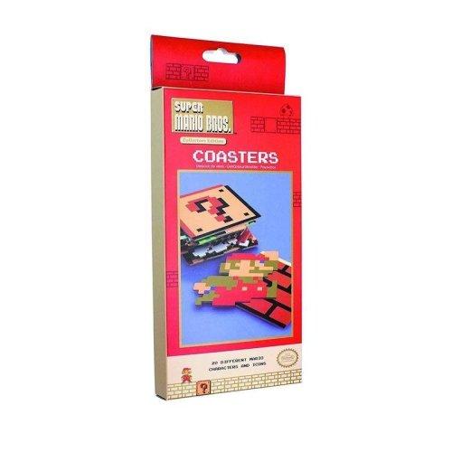 Super Mario Bros Coasters, Multi-Colour