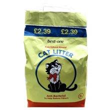 Bestone Antibac Cat Litter Pm£2.39 (5ltr) (Pack of 4)