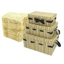 16 Cardboard Picnic Basket Gift Packs