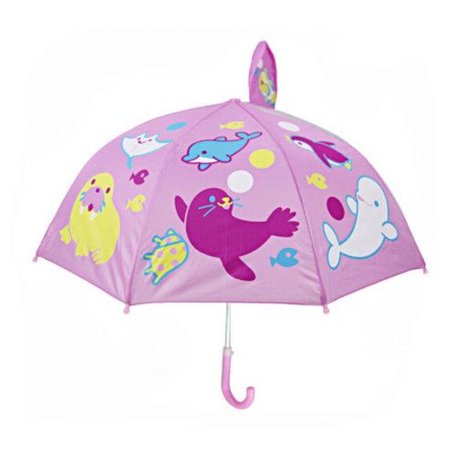 Childrens  Rainy Day Umbrella /Bright colors/Kids Umbrella?Aquatic creatures