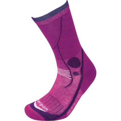 Lorpen Womens T3 Light Hiker Socks Violet (Medium UK 6-8)