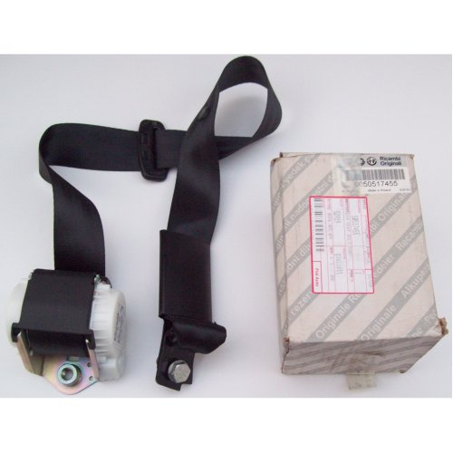 Alfa Romeo Giulietta Genuine New Centre Rear Black Seat Belt 50517455