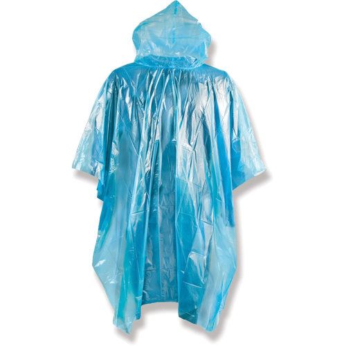 Yellowstone Emergency Lightweight Raincoat Poncho Blue