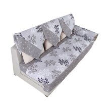 Pastorable Floral Sofa Slipcovers Cushion 110x180cm [Grey Ginkgo]