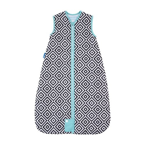 The Gro Company Grobag Jet Diamonds Travel Baby Sleeping Bag - 18-36m - 2.5 Tog