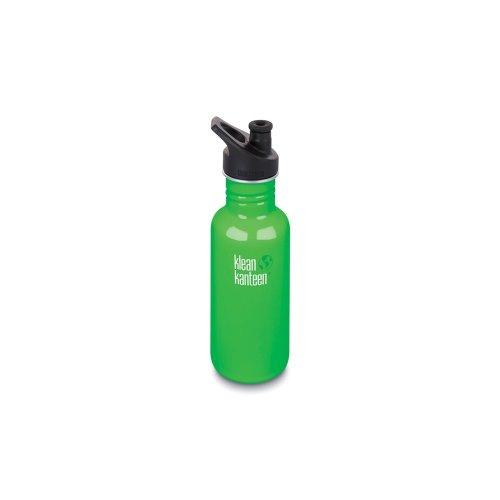 Klean Kanteen 532ml Water Bottle with Sport Cap (Spring Green)