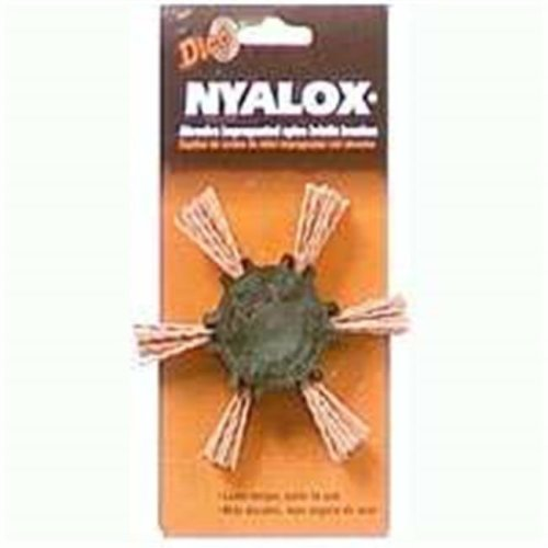 Dico Products 541-782-4 4 In. Medium Nyalox Flap Brush Orange