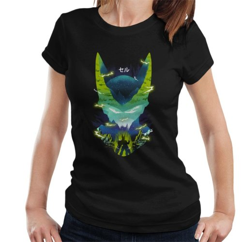 Cell Silhouette Dragon Ball Z Women's T-Shirt
