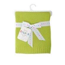 East Coast Love Colour Cotton Blanket Lime