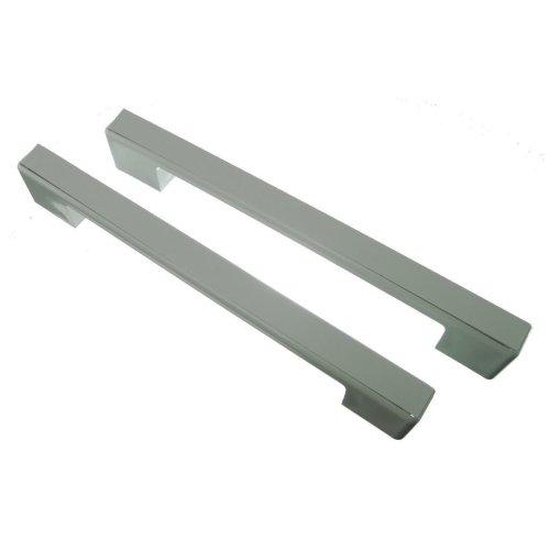 2 x Universal White Fridge Freezer Door Handle 240mm-275mm