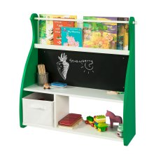SoBuy® KMB09-GR, Wall Mounted Children Kids Bookcase Desk Shelf
