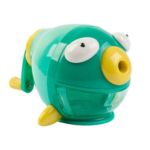 Cute Fish Manual Pencil Sharpener For Office And Classroom