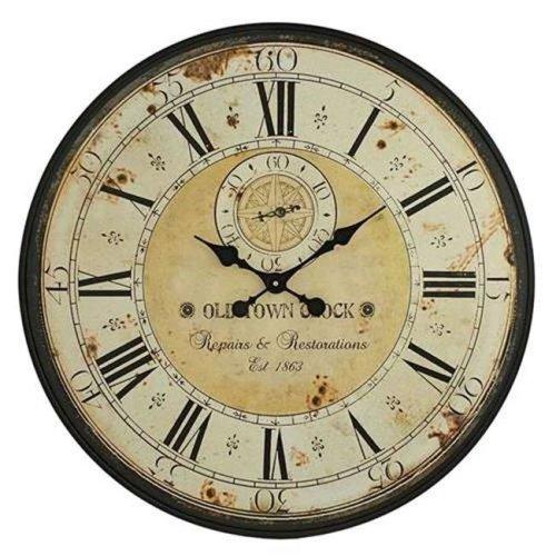 Aspire 5464 Simona Round Wall Clock, Green