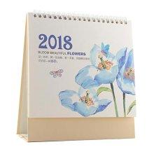 2018 Desk Notebook Memorandum Calendar Office/Home Business Calendar-F