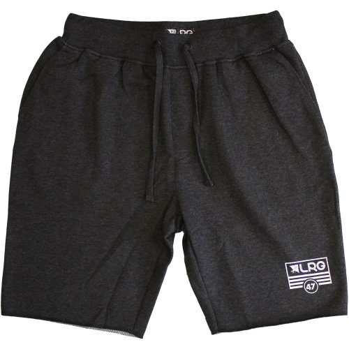 Lrg RC Flag Mens Sweat Shorts Black