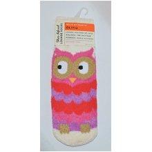 Bath &amp Body Works Shea Infused Lounge Socks Olivia the Owl
