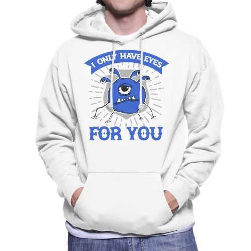 I Only Have Eyes For You Dungeons And Dragons Men's Hooded Sweatshirt