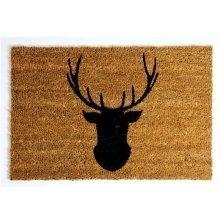 Deer Head Doormat