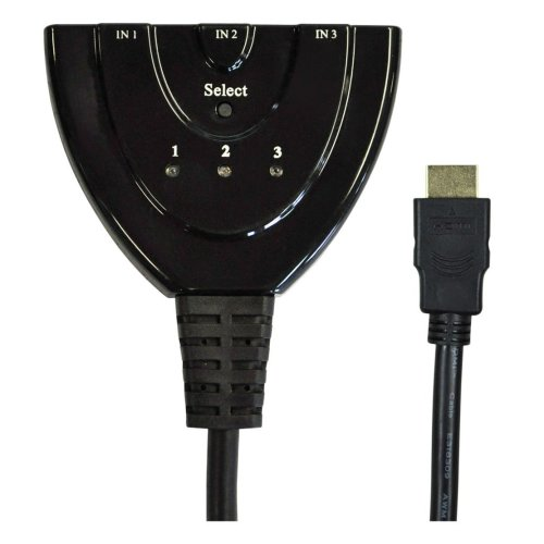 3 Way In-line HDMI Input Selector