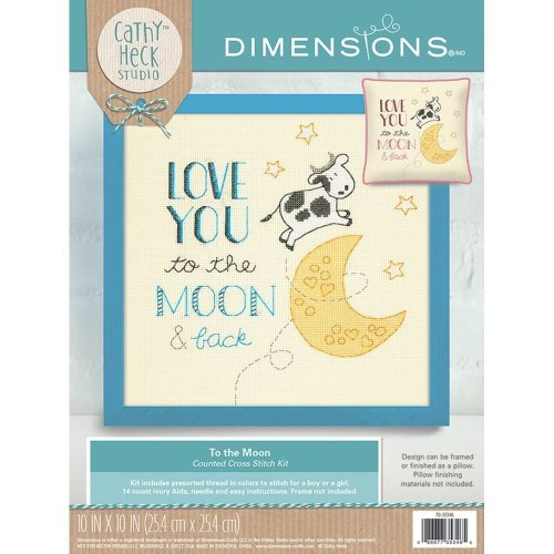 * Dimensions Counted X Stitch - To the Moon