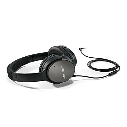 Bose QuietComfort 25 Acoustic Noise Cancelling Headphones for Apple devices Black wired 3 5mm