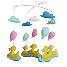 Colorful Decor Gift, [Cute Ducks] Crib Mobile, Cute Baby Toy