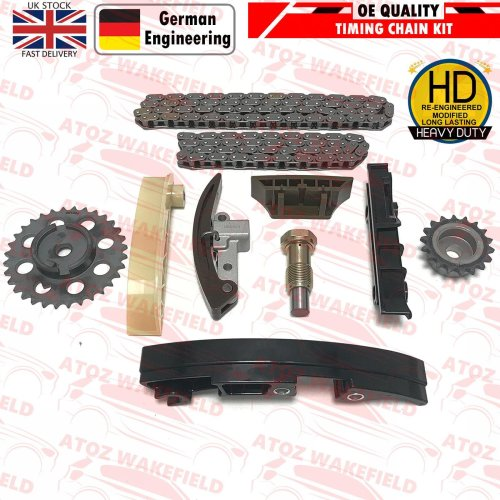 FOR AUDI SEAT VW 2.3 3.2 3.6 2.8 PETROL ENGINE TIMING CHAIN GEARS TENSIONERS KIT