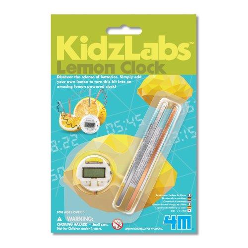 Lemon Clock - Kidz Labs Children's Creative Set