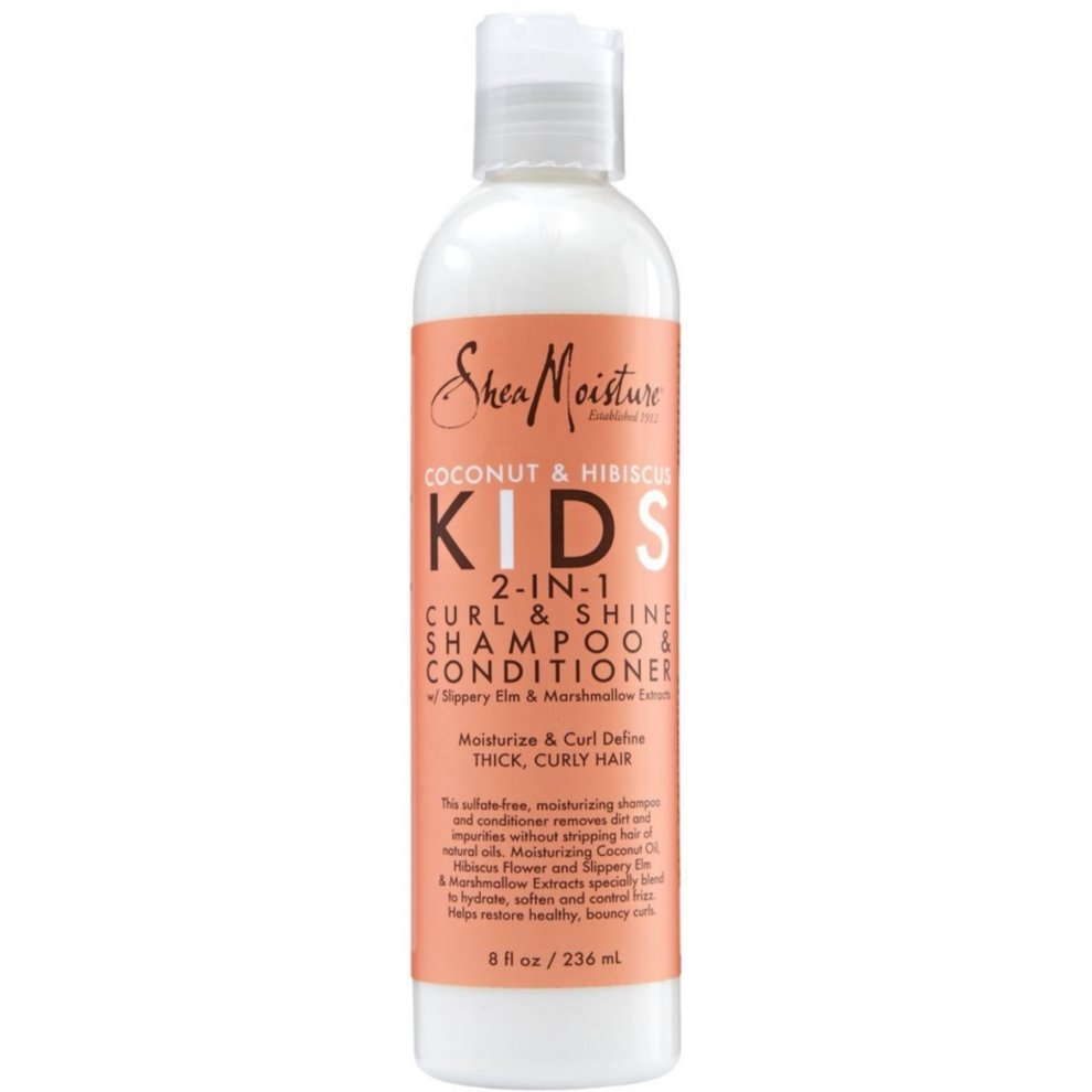 Shea Moisture Kids Coconut & Hibiscus 2-in-1 Shampoo & Conditioner 236ml on OnBuy