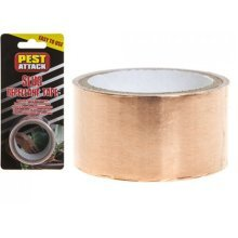1.5m x 25mm Slug Repellant Copper Tape On Blister Card - Snail Repellent -  slug snail copper repellent tape x adhesive self roll 25mm metre pack 1m