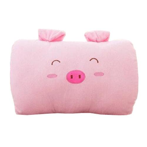 Creative Warm Hands Pillow Soft Plush Doll Toy Throw Pillows Cushion, Pink Pig