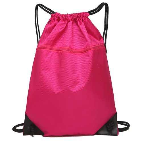 Drawstring Bag Unisex Gym Bag Sport Rucksack Shoulder Bag Hiking Backpack #11