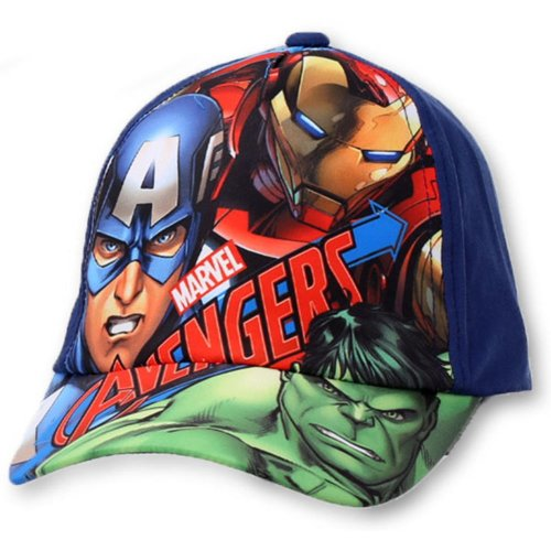 Avengers Baseball Cap - D5 - Navy