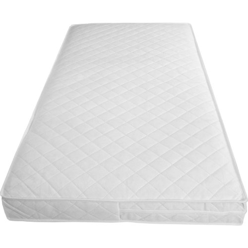 Mother Nurture 140x70 x10cm thick British Made Luxury Spring Cot Bed Mattress