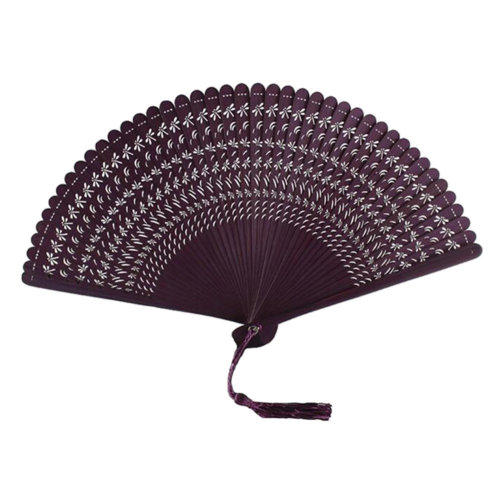 Chinoiserie Classical Bamboo Fan Hand Fan Beautiful Folding Fan Handheld Fan #03