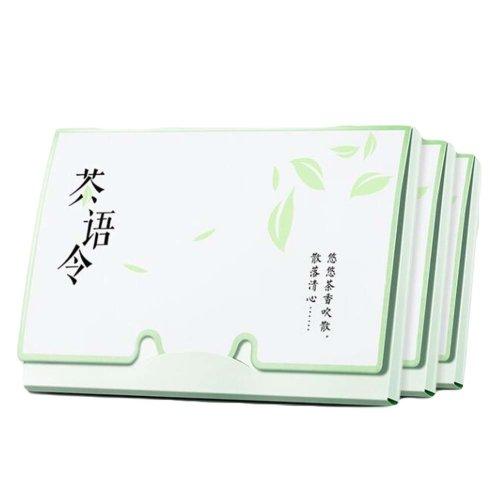 Green Tea Women Facial Oil Absorbing Sheet, 300 Sheets