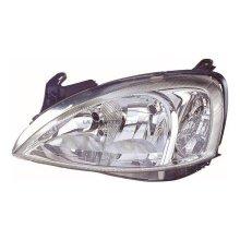 Vauxhall Combo Mk2 (H7/H7) Van 7/2002-2006 Headlight Headlamp Passenger Side N/S