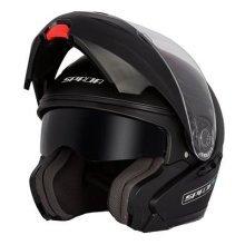 Spada Reveal Flip Front Motorcycle Helmet S Matt Black