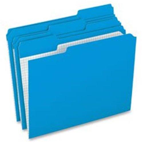 Color Reinforced Top Tab Legal File Folders, Green