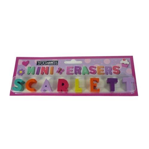 Childrens Mini Erasers - Scarlett