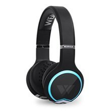 Wearhaus Arc Bluetooth Headphones, Best On-Ear HD Stereo w/ Custom Light Ring
