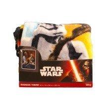 "Star Wars The Force Awakens Super Plush Throw Blanket Kylo Ren (48"" x 60"")"