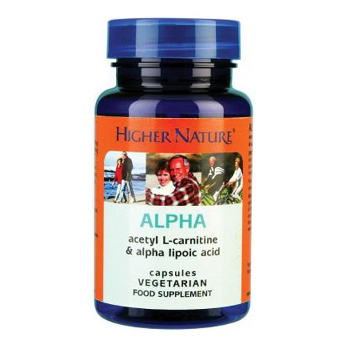 Higher Nature Alpha Lipoic Acid 30 Capsules