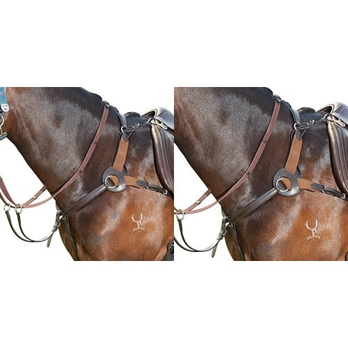 Kincade Leather Five Point Breastplate