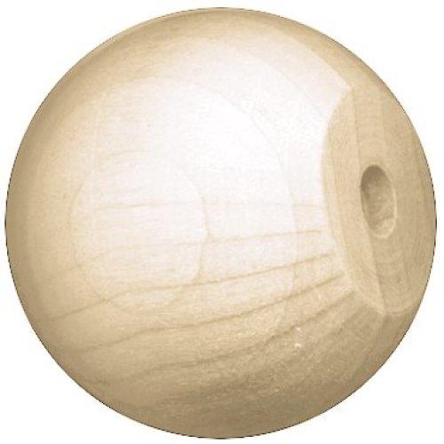 "Wood Turning Shapes Value Pack-Knob/Doll Head 1.5"" 7/Pkg"
