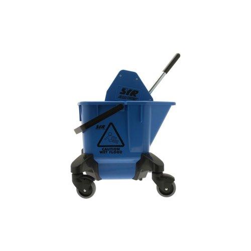 Kentucky Mop Bucket & Wringer - Blue - 20 Litre