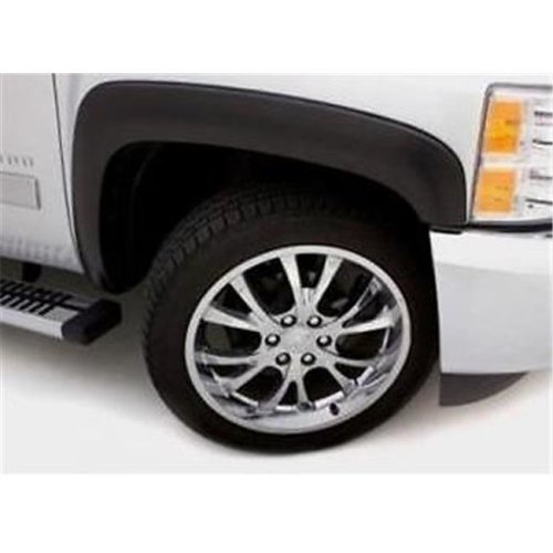 Lund International LNDSX103S Elite Series SX-Sport Style Standard Fender Flares - Black