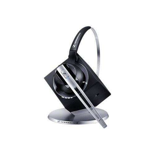 Sennheiser DW Office Monaural Bluetooth Black,Silver