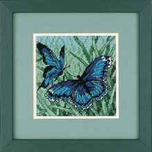D07183 - Dimensions Mini Needlepoint - Butterfly Duo